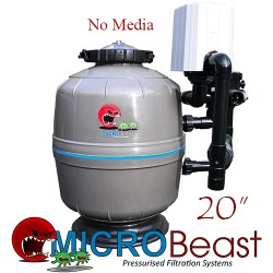 micro-beast mb-20 bead filter with no media