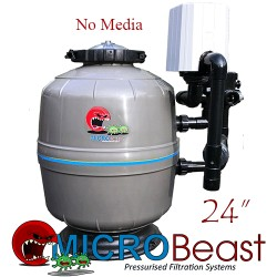 micro-beast mb-24 bead filter with no media