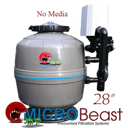 micro-beast mb-28 bead filter with no media