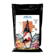 aqua source all season with garlic koi food 3mm