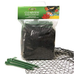 blagdon fine black cover net in carry bag 4 x 3m