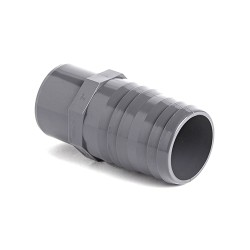 pvc imperial hose adaptor - male spigot x mm hose tail