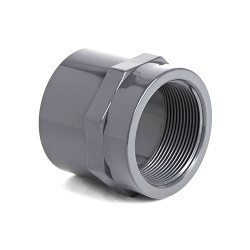 PVC Imperial Plain/Threaded Socket