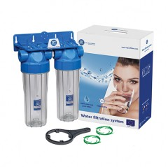 10 inch two stage in line Water Purifier