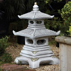 japanese double tier pagoda