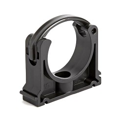 mperial Industrial Pipe Clip Black PP