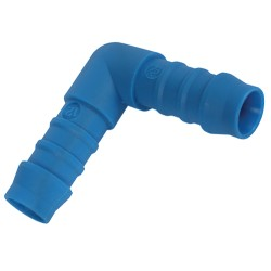 Tefen Blue Nylon Connectors Barbed Hose Elbow