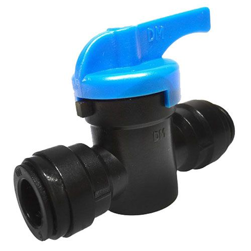 12mm to 12mm Push Fit Tap Valve