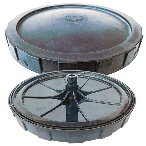 Round Rubber Air Diffuser 12""